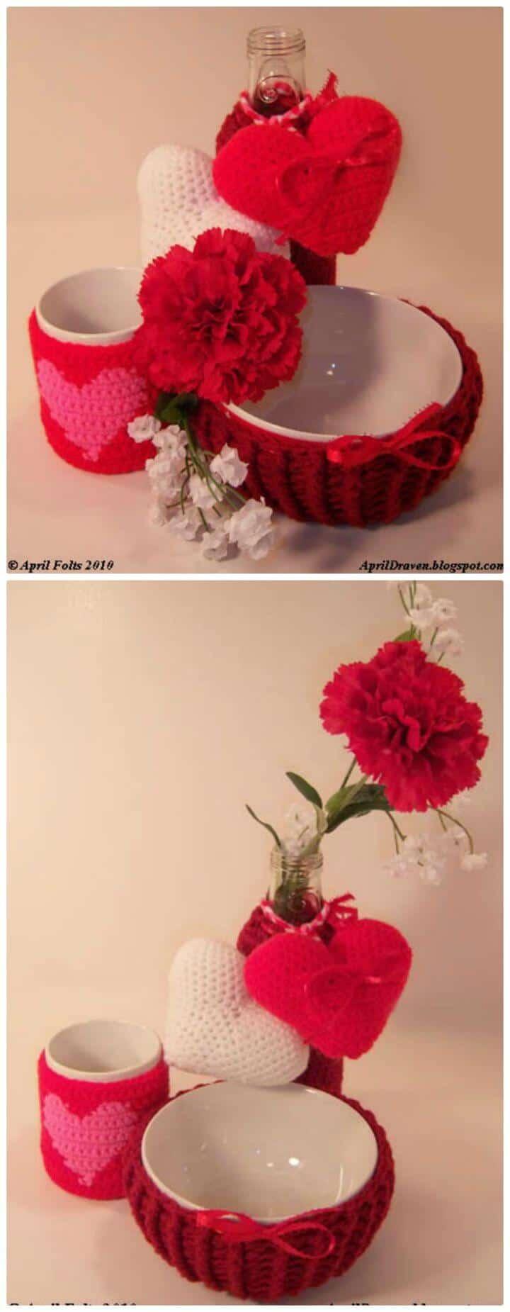 Free Crochet Valentine's Day Project Pattern