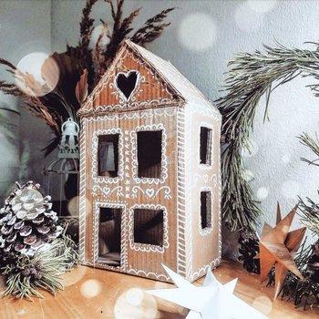 crea tu propia casa de caja de cartón