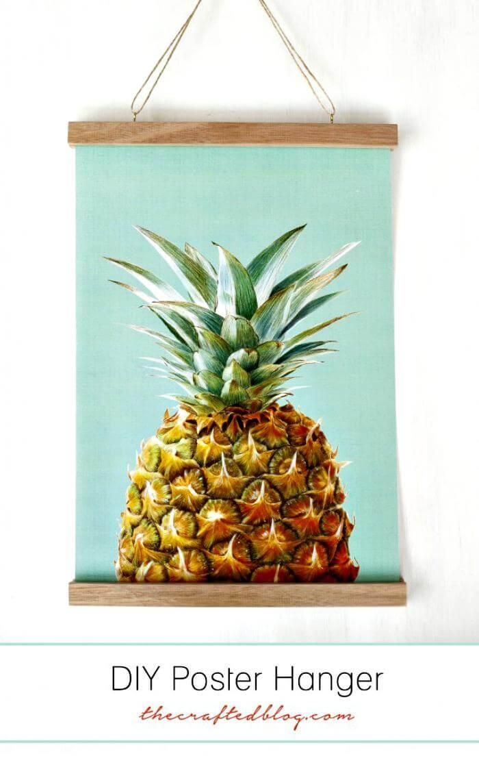 Colgador de carteles super hermoso de bricolaje